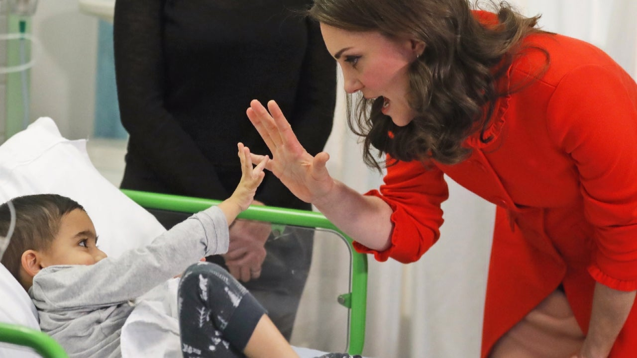 Kate Middleton Channels Princess Diana With Visit To Sick