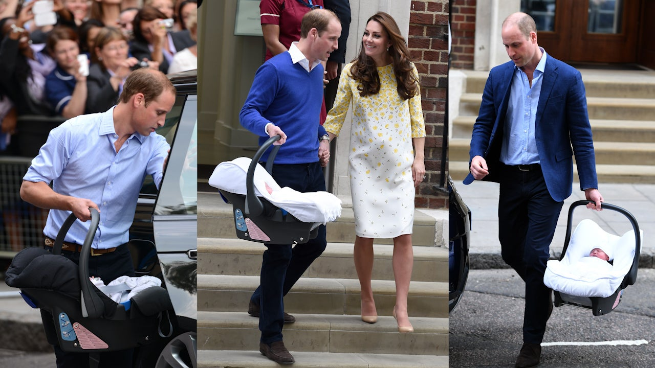 Prince William And Kate Middleton Have Used Same Car Seat