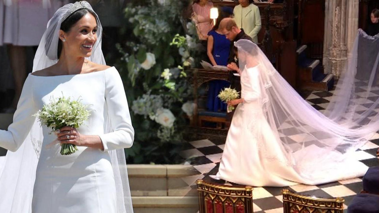 breaking down meghan markle�s 270000 givenchy wedding