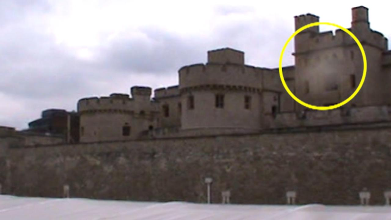 Is a Ghost Floating Over the Tower of London?Is a Ghost Floating Over the Tower of London?