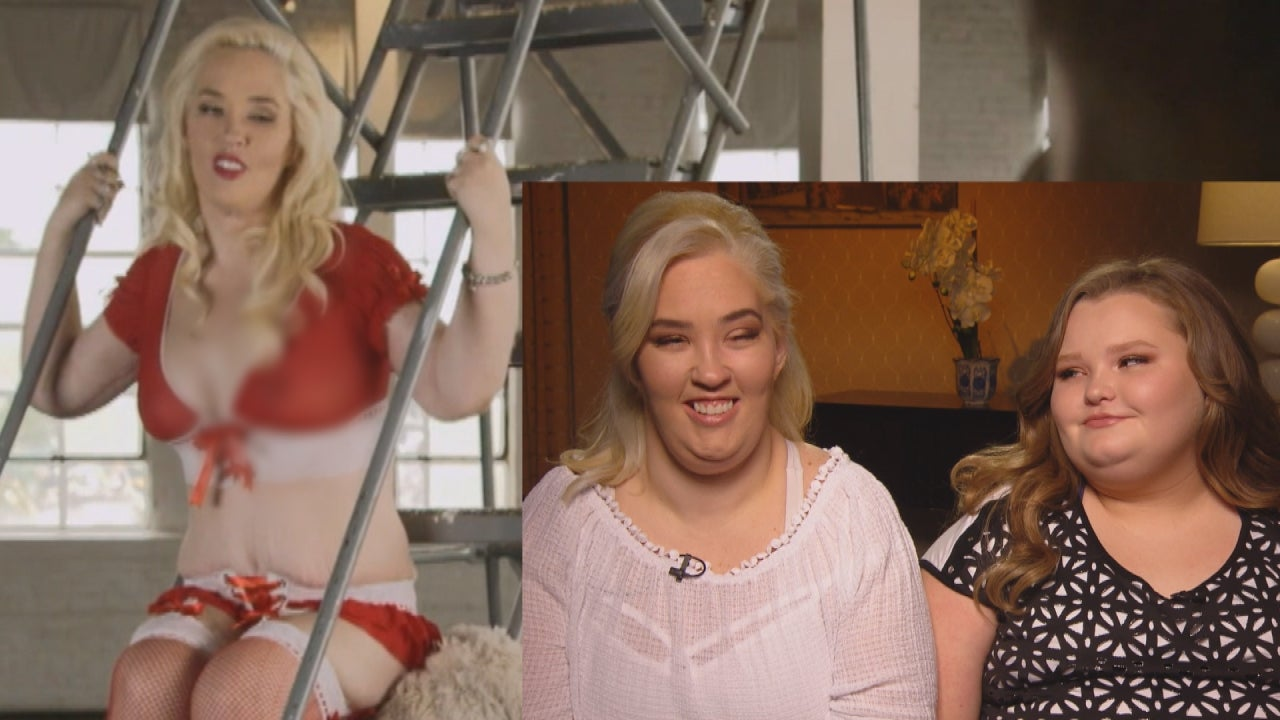 Mama June Poses in Lingerie and Honey Boo Boo Thinks It's