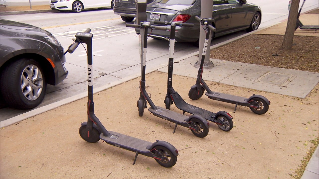 How to Properly Ride Popular Bird Scooters | Inside Edition
