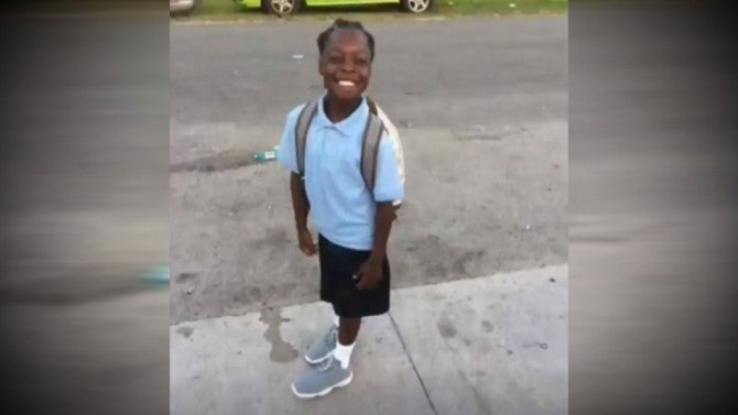 8 Year Old Shot And Killed As He Left Another Child S