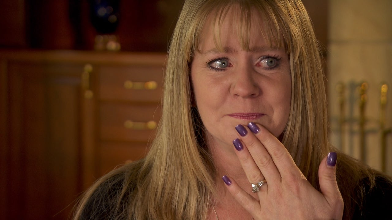 Tonya Harding Gets Emotional Speaking About Husband And