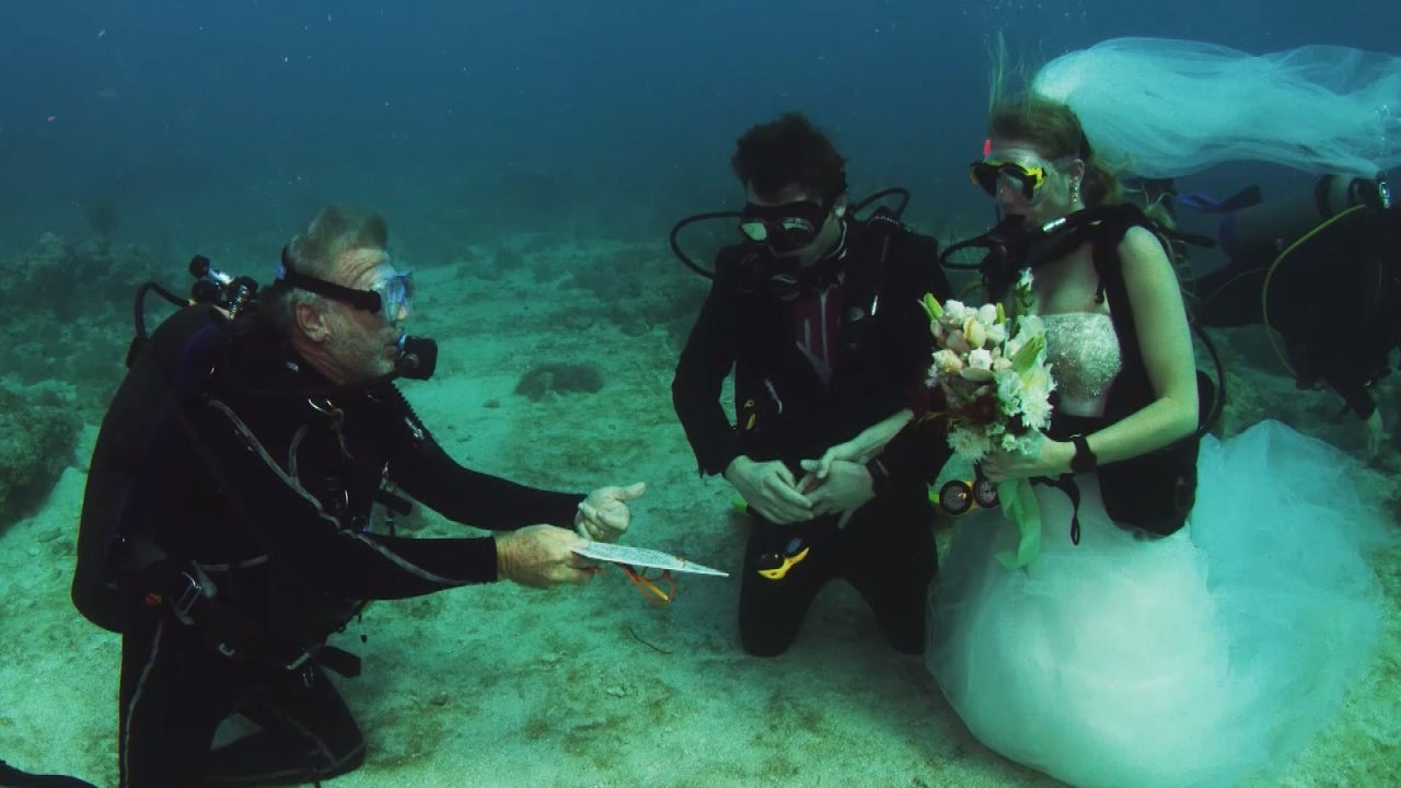 Scuba Diving Gets Married In Underwater Wedding Inside Edition