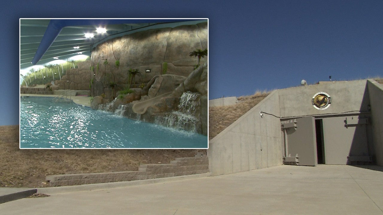 Go Inside The Luxury Underground Bunker With Its Own Movie