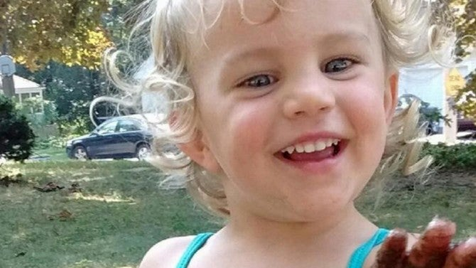 Two-Year-Old Girl Found Naked and Bruised, Babysitter