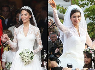 Princess kates gown mirrors wedding dress worn two years ago princess kates gown mirrors wedding dress worn two years ago inside edition junglespirit Images
