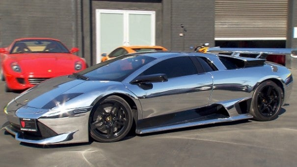 Flashy Chrome Cars Could Pose A Hazard Inside Edition