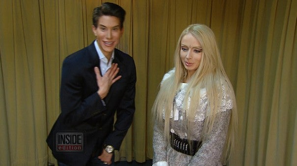 Real Life Barbie And Ken Face Off Over Who S More Doll