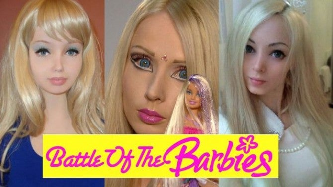 Battle of The Human Barbies | Inside Edition