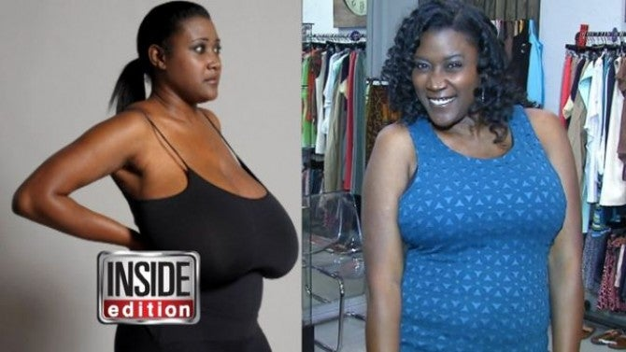 Big black long nipples