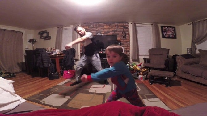 Watch This Father And Son S Adorable Little Einstein Dance