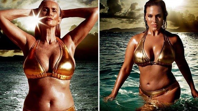 Sports Illustrated Features 56 Year Old Model And Plus