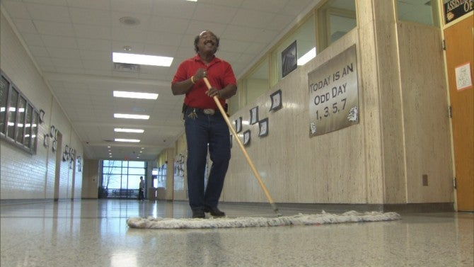 Meet The Singing High School Janitor Who Brings Music to ...