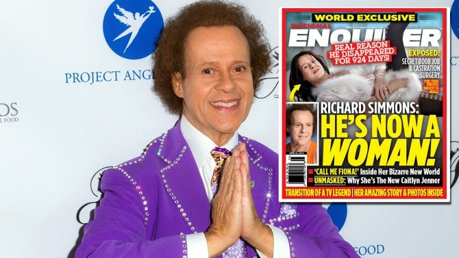 richard simmons woman. has fitness guru richard simmons transitioned into a woman? | inside edition woman s