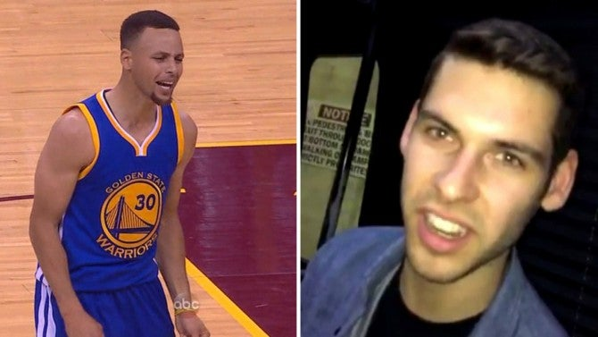 Son of Cleveland Cavs Owner On Getting Hit by Steph Curry's Mouthpiece: 'He Was Actually Very ...