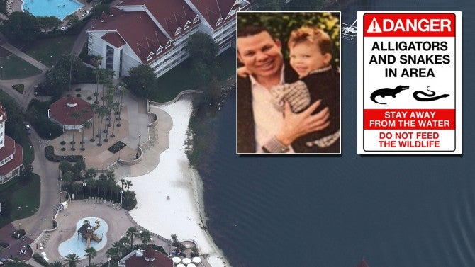 Disney World Adds Warning Signs On Beaches As Family Of