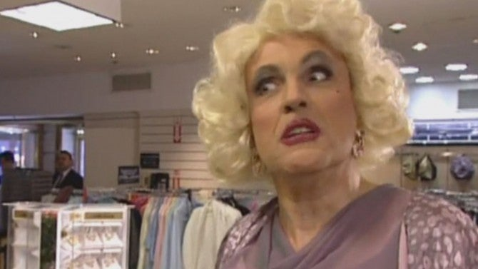 a With Looks in Like Drag  Lady: Rudy Dressed Giuliani