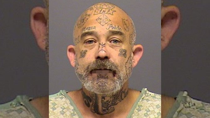 Man Covered in 'Aryan Pride,' Anti-Law Enforcement Tattoos ...
