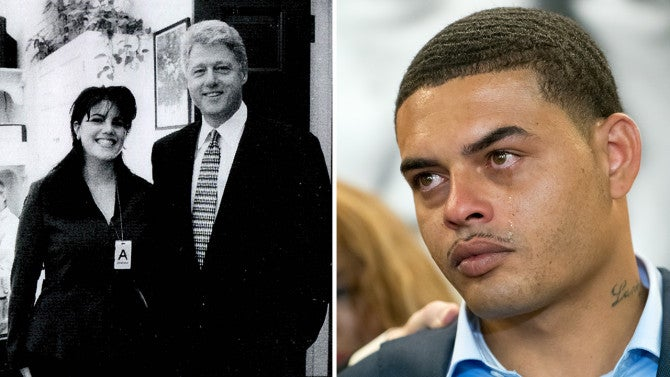 Man Claiming To Be Bill Clinton S Son Asks Monica Lewinsky