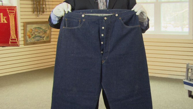 Oldest Pair Of Jeans Known To Exist In The World Expected