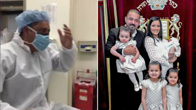 Dad Of 5 Girls Is Hilariously Shocked In Delivery Room As