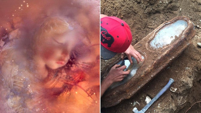 Perfectly Preserved Toddler Found Buried In 1800s Casket
