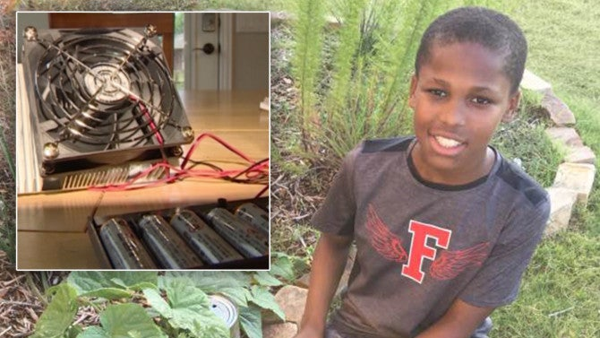 11-Year-Old Boy Invents Device to Prevent Hot Car Deaths ...