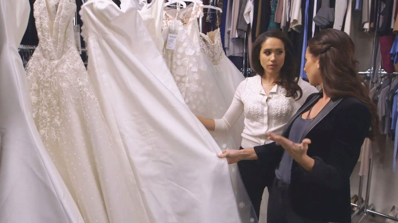 Just A Day After Royal Engagement Meghan Markle Already Dropping Hints About The Dress Inside Edition