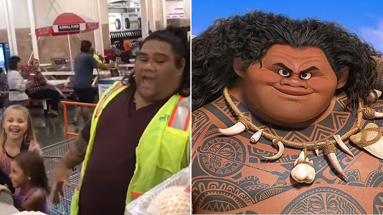 Cashier Who Looks Like Character From Disneys Moana Is Beloved By Kids