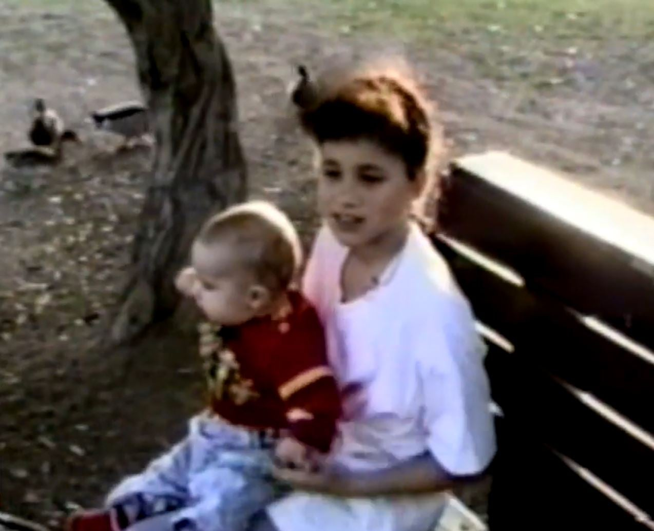 Tyler and Markle as Young Kids