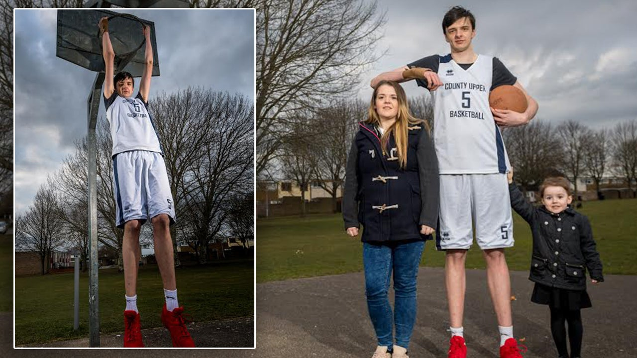 Is This the Tallest Teen in the World? 16-Year-Old Stands ...