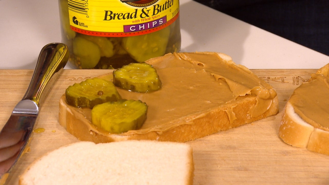 is the peanut butter and pickle sandwich better than it sounds inside edition. Black Bedroom Furniture Sets. Home Design Ideas