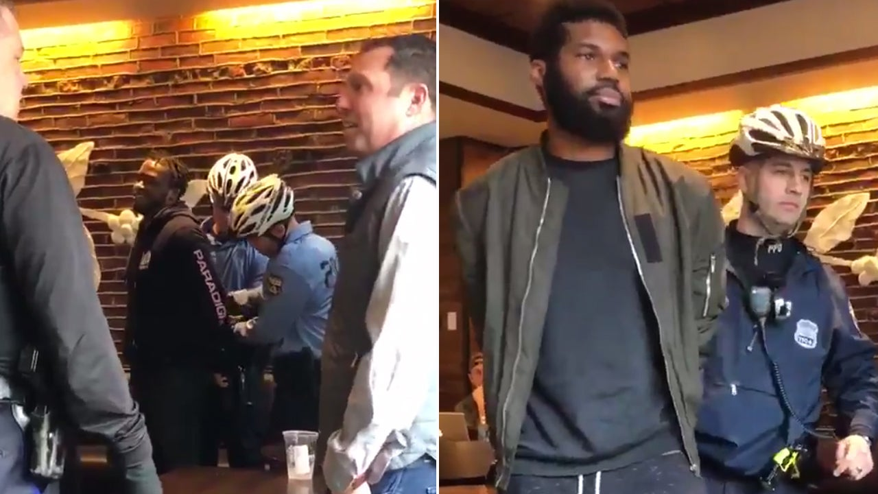 Starbucks Apologizes After Video Of Two Men Being Arrested