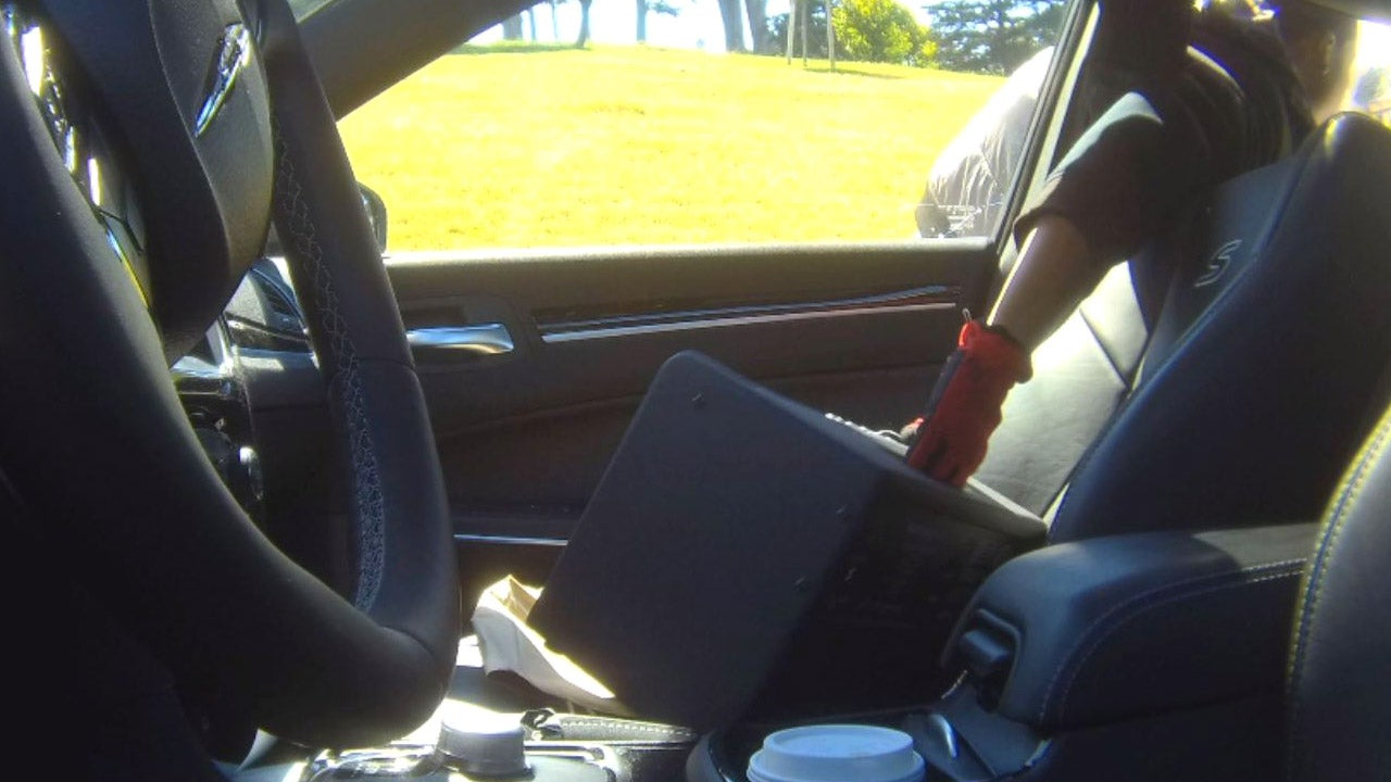 Inside The Wave Of SmashandGrab Car Robberies Plaguing San - Bait car show