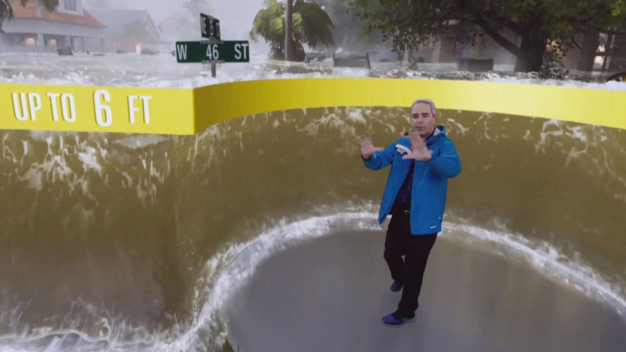 hurricane florence  the weather channel unveils unique