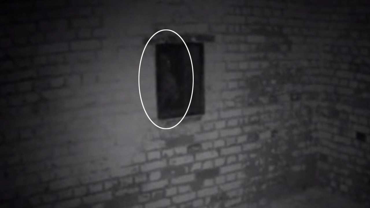 man catches figure on camera he believes to be a ghost it was