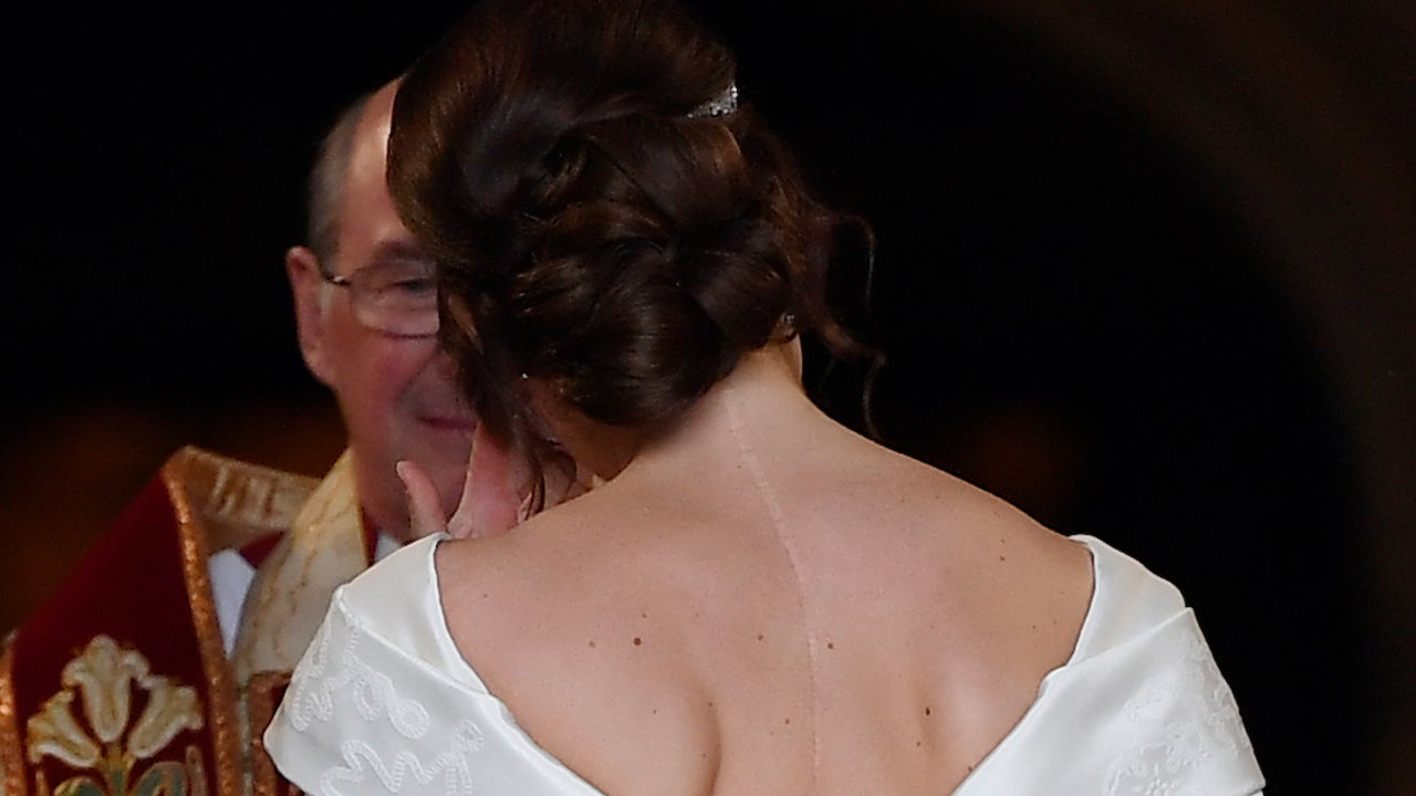 Princess Eugenie Requested Open-Back Wedding Dress To Show