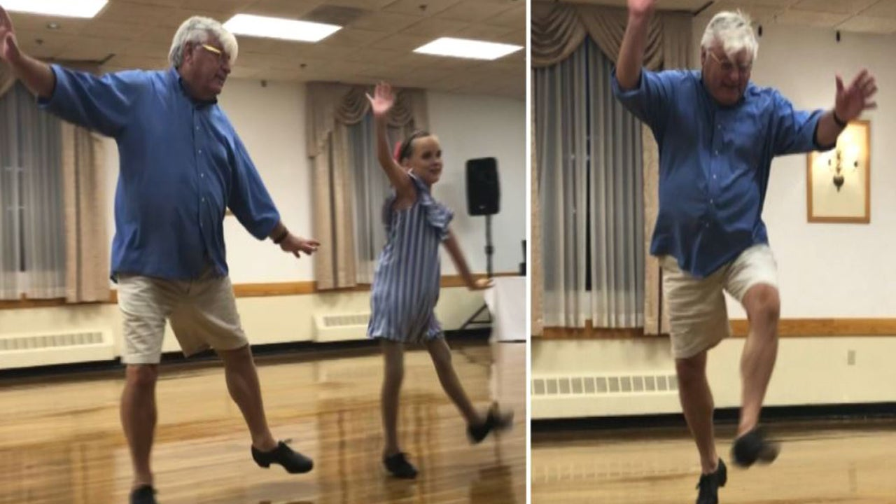 Tap-Dancing Massachusetts Grandpa Is Still Turning