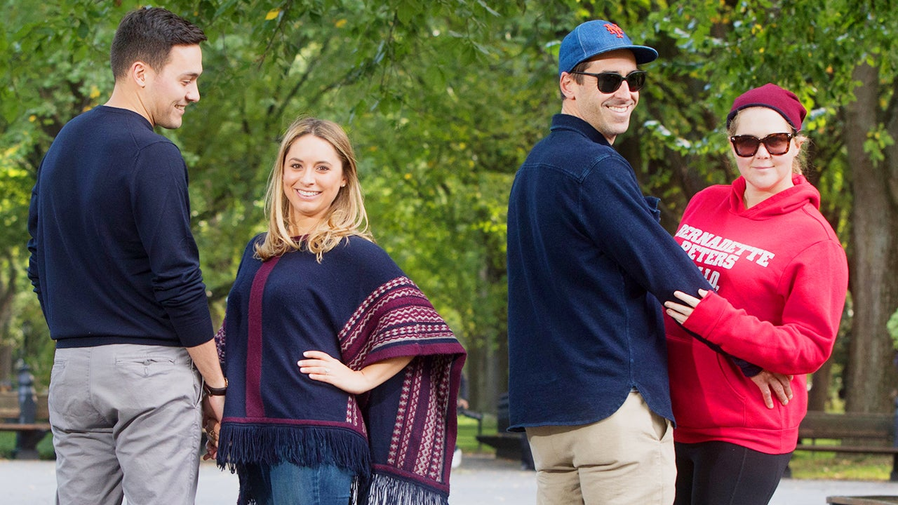Amy Schumer and Husband Chris Fischer Photobomb Couple's ...