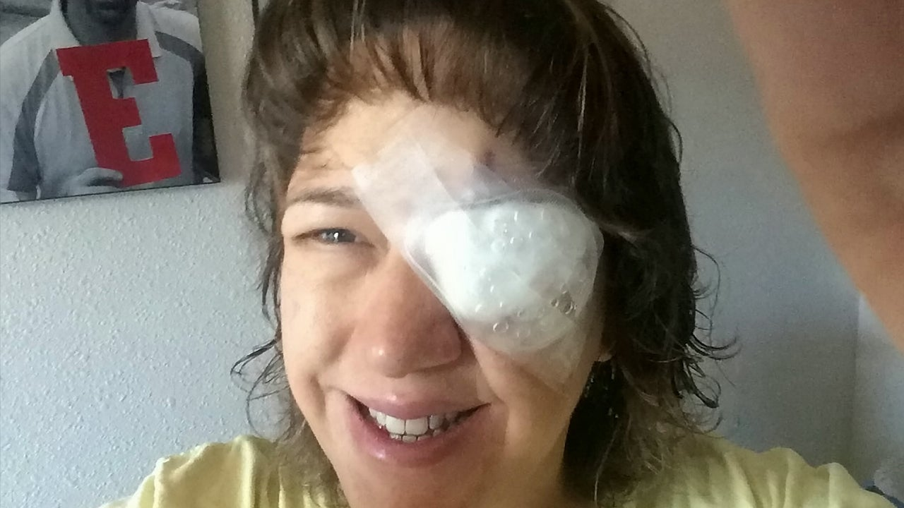 Mom Goes Blind In One Eye After Wearing Contact Lenses While Swimming Inside Edition