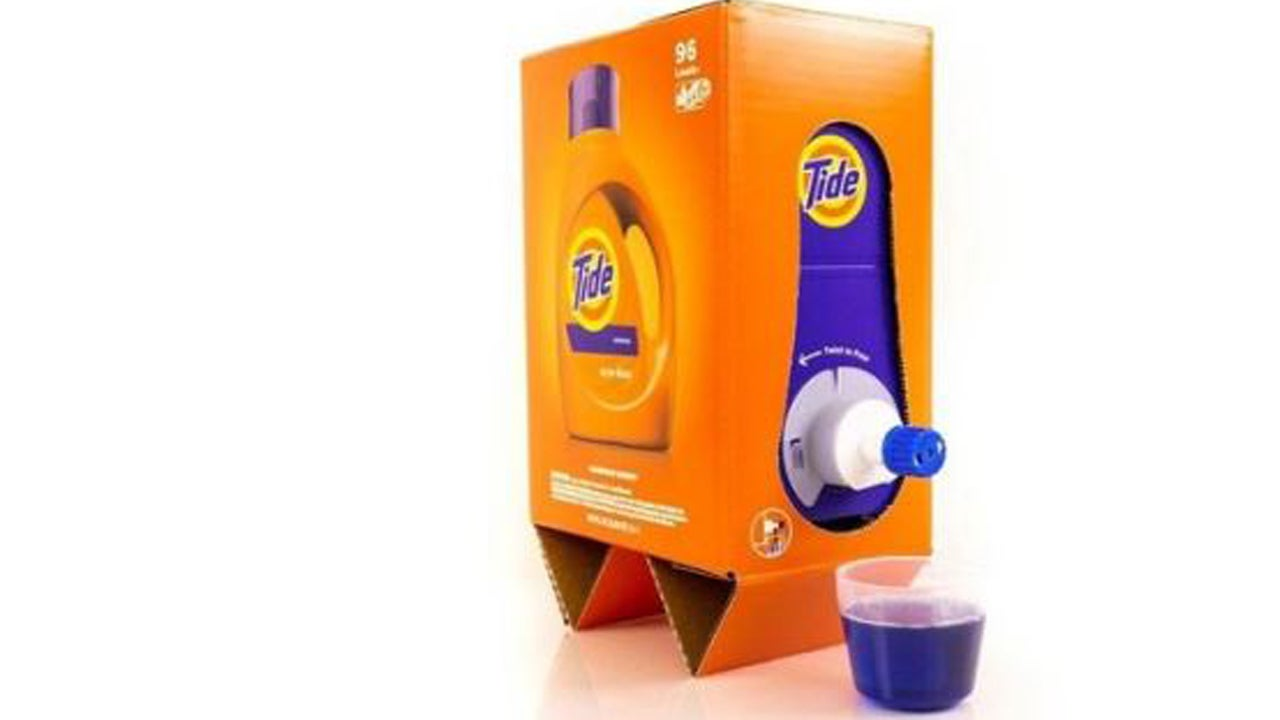 Don T Drink The Tide Laundry Soap Now Comes In A Wine