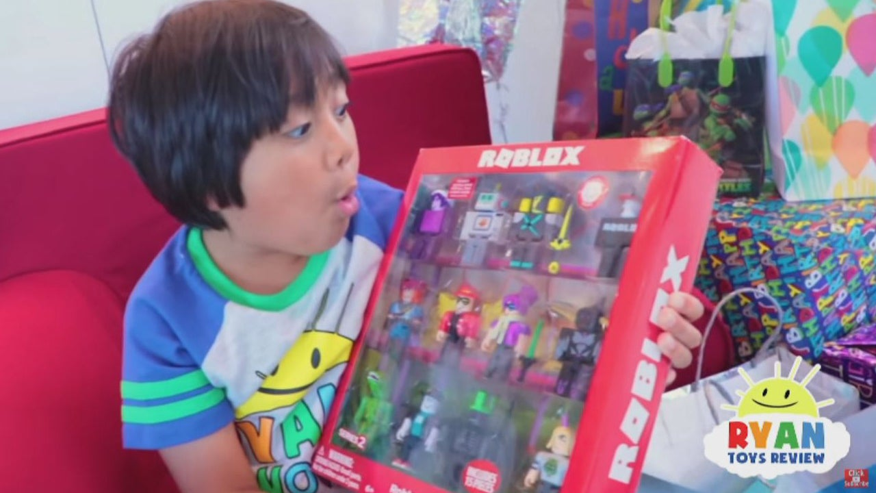 Ryans Roblox 7 Year Old Who Reviews Toys For Ryan S Toysreview Is Youtube S Top Earner Of 2018 Inside Edition