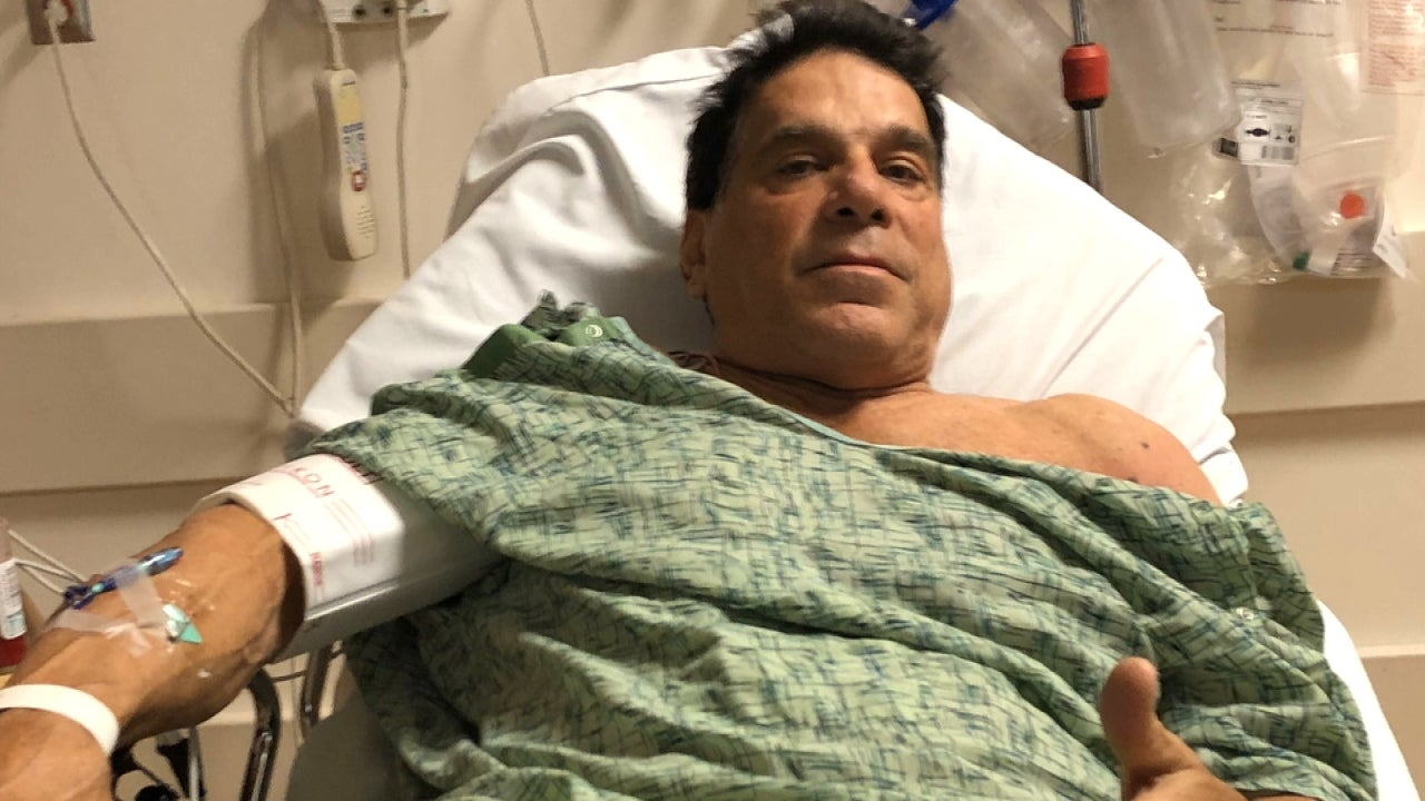 Incredible Hulk Lou Ferrigno Says He Was Hospitalized