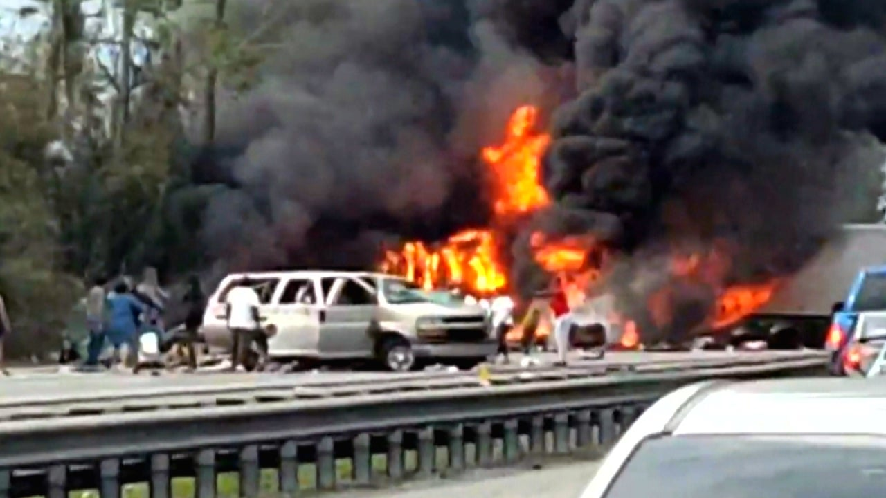 Fiery Crash Kills 7, Including 5 Children, on the Way to ...