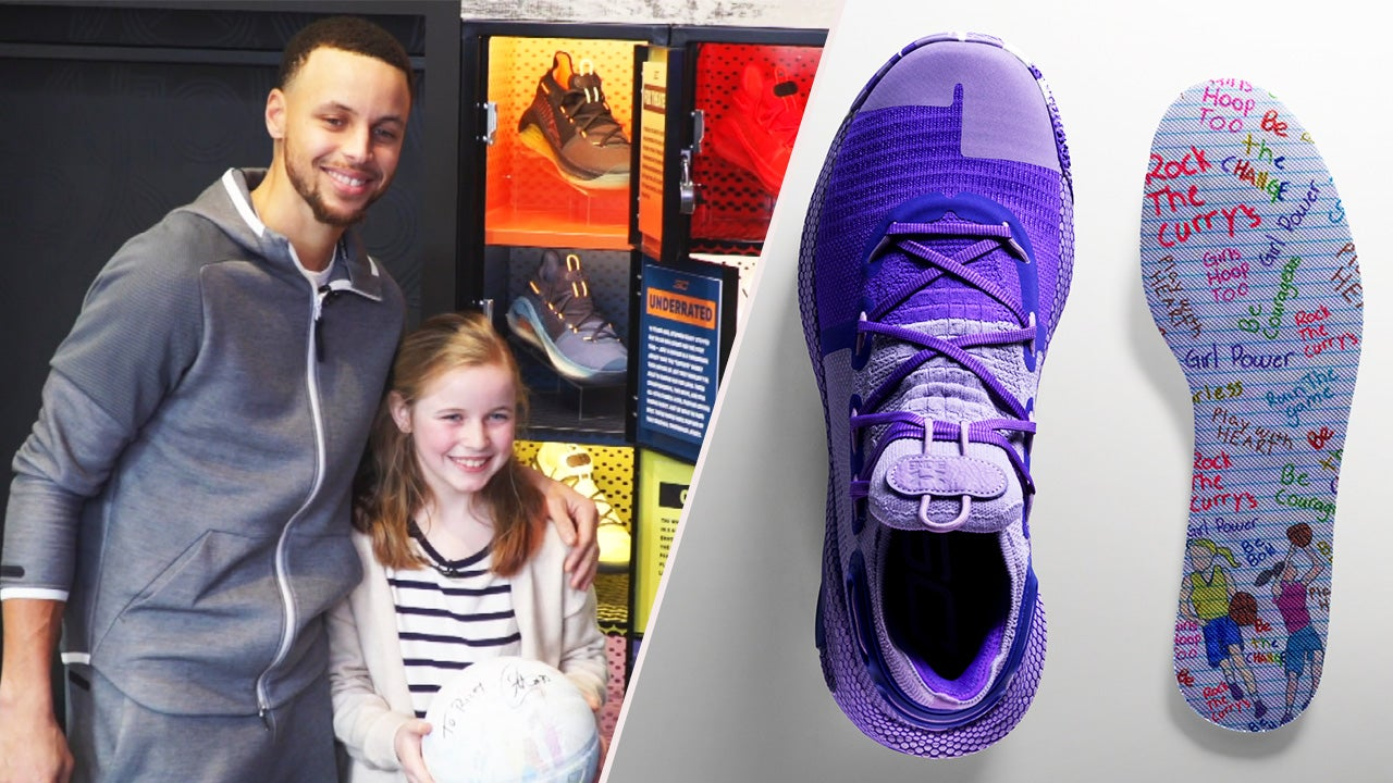 95c88b98145d 9-Year-Old Girl Designs Steph Curry s New Sneakers for Women s Day ...