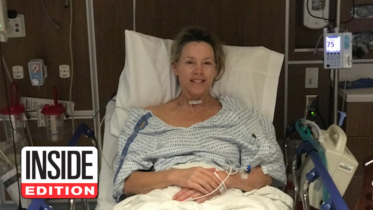 Inside Edition S Deborah Norville Smiles After Waking Up From