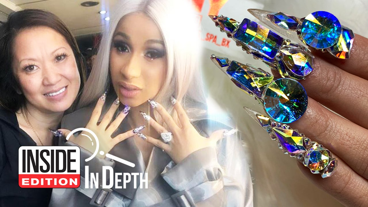 Cardi B S Nails: Meet The Woman Who Creates Cardi B's Blinged-Out Manicures