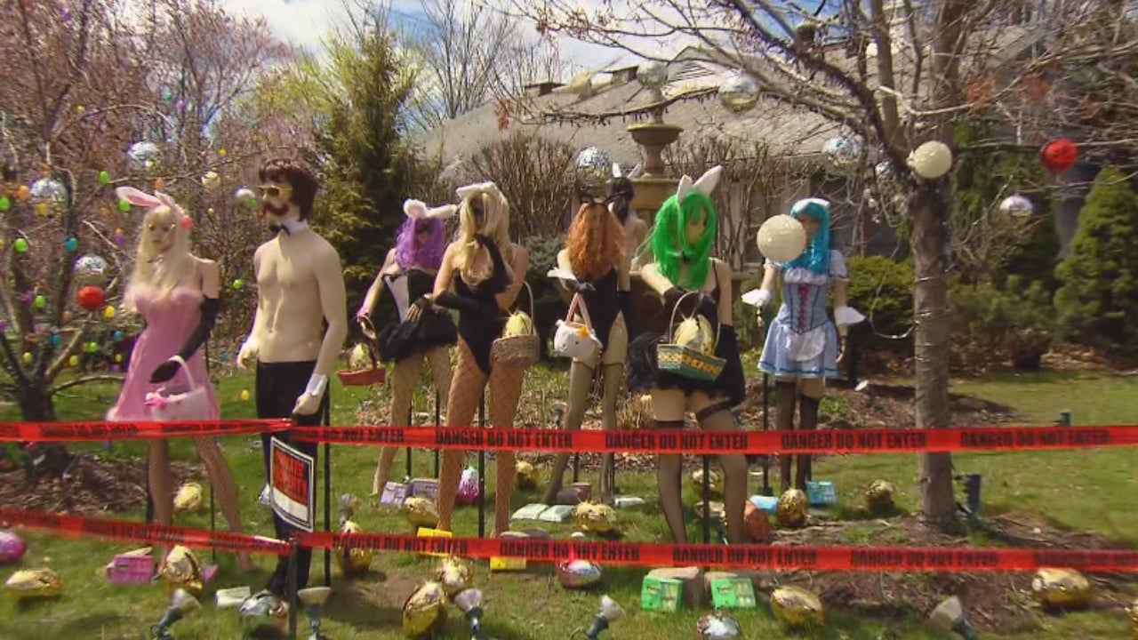 Risque Easter Display Gets An Upgrade From New Jersey